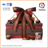 De hart-gevormde Doos van de Gift van de Chocolade Verpakkende