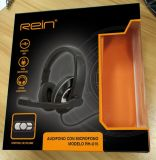 Computer stereo Wired Headset con il Trs 3.5 Connector (RH-U16-010)