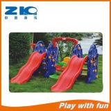 Kind-Innenspielplatz-Plastikschwingen mit zwei-Plättchen für Verkauf