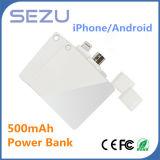 banco de la energía de batería Emergency 500mAh para el iPhone 6s