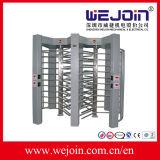 ステンレス鋼の完全な高さの回転木戸は回転木戸のゲートのアクセス制御をゲートで制御する