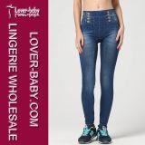 Form-Jeans-Blick-Gamaschen 2016 nahtlose Frauen-Gamaschen L97038