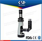 Mini microscopio metallurgico portatile tenuto in mano FM-BJ-x