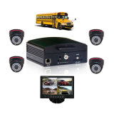 4 canaleta 3G Mobile DVR Car DVR System para Bus Truck, Support 1tb HDD e 128GB SD Card a Storage