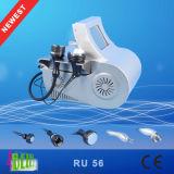 Gordura bipolar do RF do vácuo ultra-sônico do RF do profissional que dissolve-se Slimming a máquina