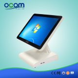 """(POS8619) 15 """" pantalla dual Touch Screen Todos en una caja registradora de la PC"""