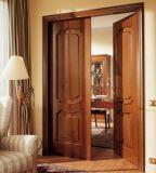 Topbright bois en bois intérieur porte de balcon