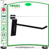 Metallbildschirmanzeige-Supermarkt-Haken-flache Haken-Bildschirmanzeige-hängende Haken