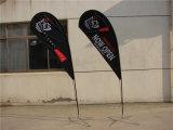 Напольный флаг летания флага пера стойки для рекламировать