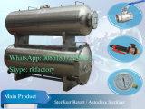 Cornue de stérilisateur de submersion de l'eau