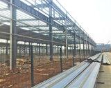 Vor-Ausgeführter vorfabriziertstahlkonstruktion-Lager-Werkstatt-Aufbau
