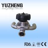 Type sanitaire soupape à diaphragme Dn25 de Yuzheng U