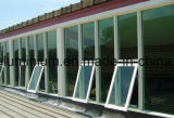 Ventana de aluminio del oscilación o ventana del toldo