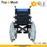 Topmediの昇進の輸送のためのアルミニウムFoldable電力の車椅子