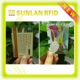 Preço agradável sem contato e cartão esperto de Palstic RFID do contato com certificações do ISO