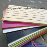 MDF della Cina Factory Produce Sloted Groove Melamine per Shop Display