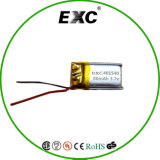 Lithium 80mAh Li-Polymer-Plastik Batterie 401540 des Hochleistungs--3.7V