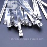 Multi tipo cintas plásticas do fechamento do aço inoxidável