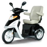triciclo eléctrico adulto de las ruedas del freno de mano de la carga 150kg 800W 3