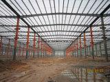 Costruzione d'acciaio standard per Worshop, magazzino con qualità eccellente