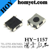 5pin SMD Tactical Switch con 6.2* 6.2*3.1mm Red Round Button per Digital Products (hy-1157-h31)