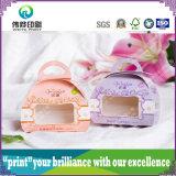 최신 판매 종이 & PVC 선물 수송용 포장 상자