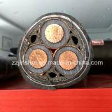 Prix résistant au feu en aluminium de cuivre de câble du conducteur isolé par XLPE XLPE
