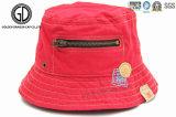 La aduana de la manera de la alta calidad bordó el casquillo y el sombrero del cubo de los niños de Babys