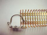 Précision électronique de prise électrique de shrapnel estampant des pièces