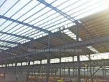 Construction préfabriquée préfabriquée d'atelier d'entrepôt de structure métallique