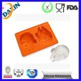 BPA liberano il vassoio del cubo di ghiaccio del silicone di Star Wars, muffa del cubo di ghiaccio del silicone del commestibile