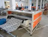 Máquina del laser del grabado de la tela con el sistema que introduce automático
