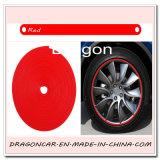 차 바퀴 변죽 프로텍터 타이어 가드 선 PVC 조형