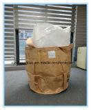 PP tejido de gran tamaño FIBC bolsa de cemento Jumbo con fondo circular