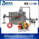 Máquina de rellenar embotelladoa chispeante de la planta de agua de la talla media