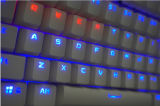 Breath Lightの2015新しいHot Product Metal Wired Mechanical Keyboard