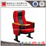 Silla barata del auditorio del precio con la silla pública de la pista de escritura (NS-WH209-1)