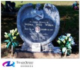 Естественный каменный имперский гранит высекая надгробную плиту ангела для мемориала/Funeral