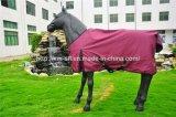 600d impermeabilizzano le coperte del cavallo dell'affluenza con le strisce riflettenti