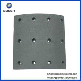 半金属の非アスベストス、陶磁器材料のブレーキ・ライニング