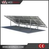 Niedrig-Pflege gewölbte Zinn-Dach PV-Baugruppee, die System (MD0034, einhängen)