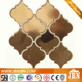 Ceramische Mozaïek van de Kleur van de Vorm van Ramdom het Gouden voor Woonkamer (C655032)