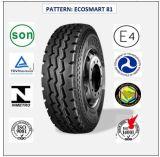 Tous les pneus radiaux en acier de camion et de bus avec le certificat 10.00r20 (ECOSMART 81) de CEE