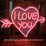 Forme du coeur LED Neon Sign LED Decorative Soft Neon