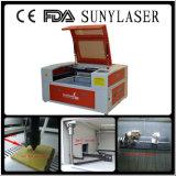 graveur de laser de la tuile 50W de 60*40cm avec Guider linéaire