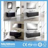 High-Gloss Lack-Speicherplatz-große doppelte Bassin-Badezimmer-Möbel (BF115D)
