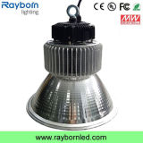 150W Meanwell 110lm/W Industrial Workshop Lamp LED High Bay Light