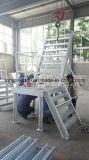 Fábrica de acero de la escalera