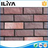 Mattonelle artificiali esterne del rivestimento del muro di mattoni della coltura dell'interiore (01004), prezzo del mattone della sabbia