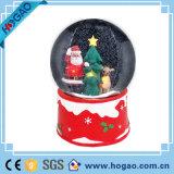 Christmas Deco Snowman Inside Resin Snow Globe